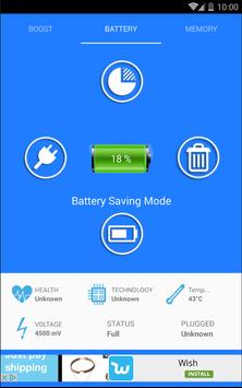 Battery Cleaner Pro screenshot 1