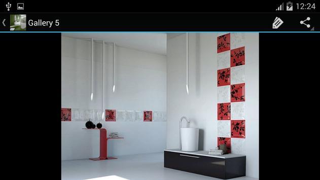 Bath Tile Ideas Decorations screenshot 9
