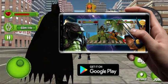 Super immortal gods battle arena jump world poster
