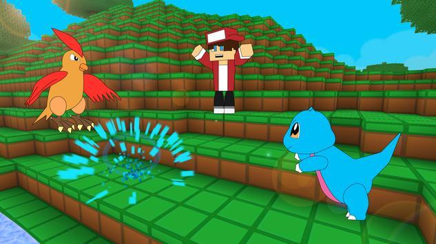 تنزيل لعبة Pixelmon Battle Craft GO: Cube World 7 للموبايل