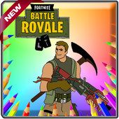 Coloring book for Battle Royal Fans icon