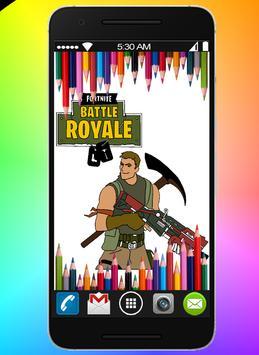 Coloring book for Battle Royal Fans screenshot 3