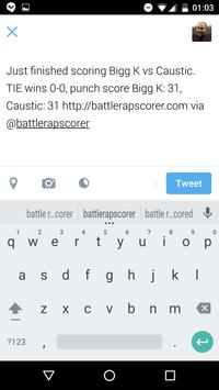 B.A.R.S. BattleRap Scorer screenshot 1