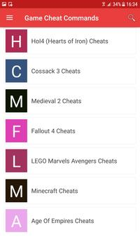 Game Cheats poster