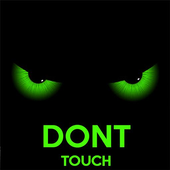 Dont touch my phone icon