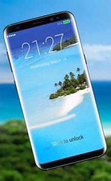 Island Paradise Lock Screen screenshot 3