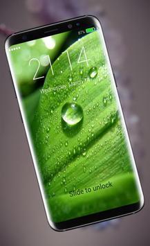 Water Drops Lock Screen screenshot 2