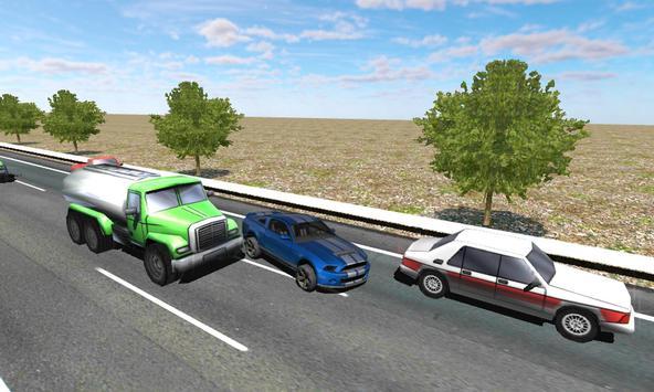 Racing in Car screenshot 2