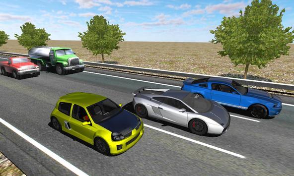 Racing in Car screenshot 5
