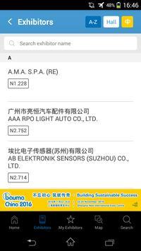 bauma China 2016 apk screenshot