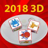 Bầu cua 2018 3D icon