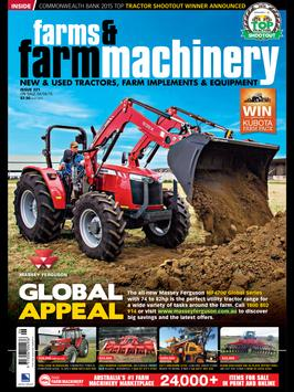 Farms and Farm Machinery poster