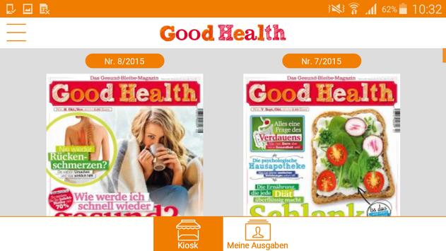 Good Health ePaper apk screenshot