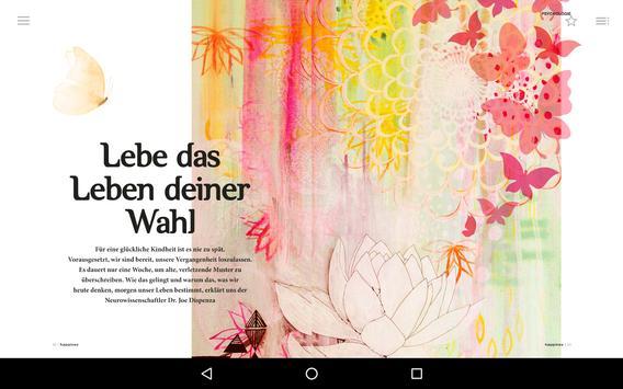 Happinez ePaper — Das Mindstyle Magazin apk screenshot
