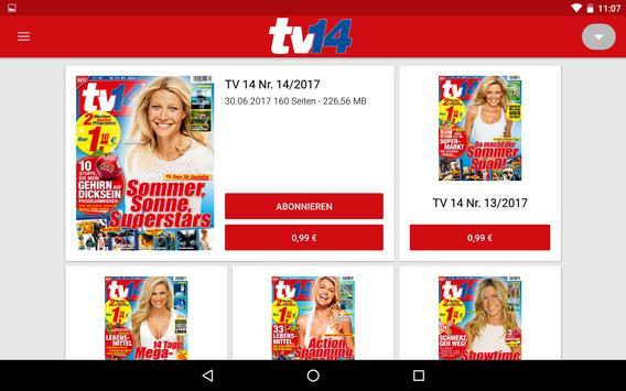 tv14 ePaper — Das Fernsehprogramm heute apk screenshot