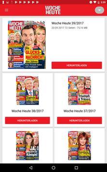 WOCHE HEUTE ePaper — Promis, Rezepte & Gesundheit poster