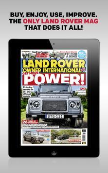 LRO: Land Rover Owner Magazine poster