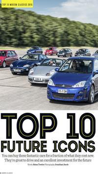 Modern Classics car magazine screenshot 1