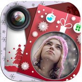 Merry Christmas & Happy New Year frames for photos icon