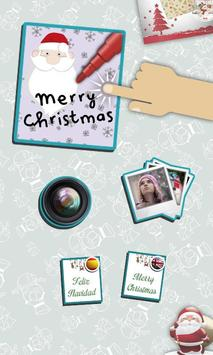 Merry Christmas & Happy New Year frames for photos poster