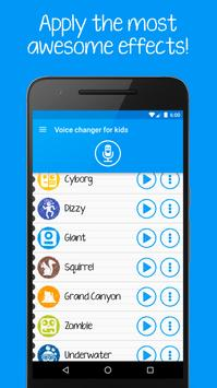 Voice changer for kids and families تصوير الشاشة 2