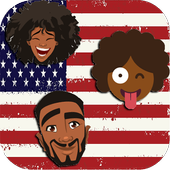 AFROMOJI : Black And Brown Skin Emoji icon