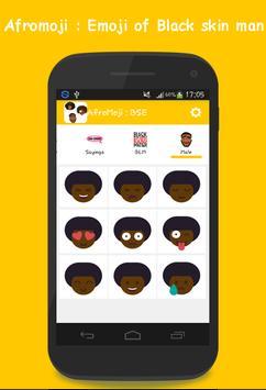 AFROMOJI : Black And Brown Skin Emoji screenshot 4