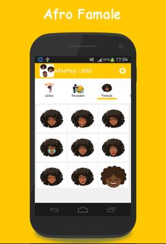 AFROMOJI : Black And Brown Skin Emoji screenshot 5
