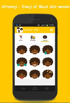 AFROMOJI : Black And Brown Skin Emoji screenshot 6