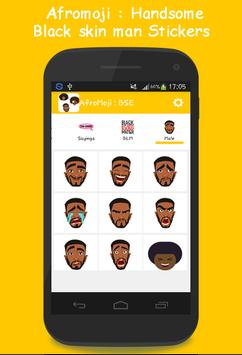 AFROMOJI : Black And Brown Skin Emoji poster