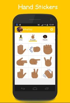 AFROMOJI : Black And Brown Skin Emoji screenshot 1