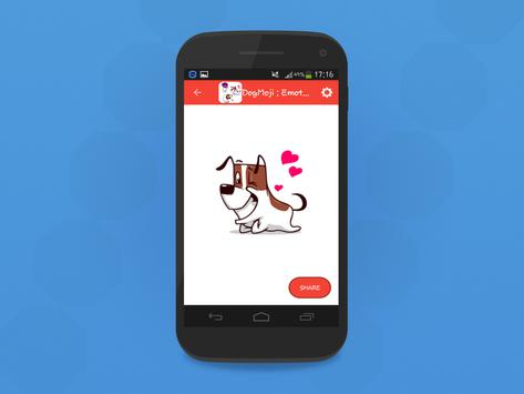DogMoji : Emoticon And Stickers Of Dogs screenshot 2