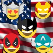 HeroMoji : Emojis And Emoticons Of HEROS icon