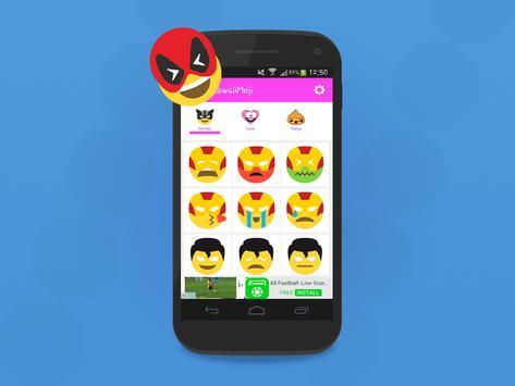 HeroMoji : Emojis And Emoticons Of HEROS poster