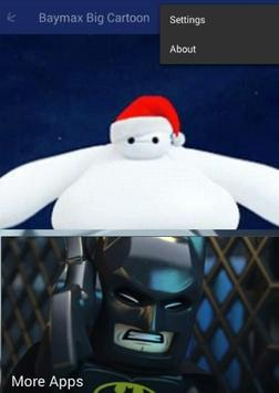Baymax Big Cartoon screenshot 1