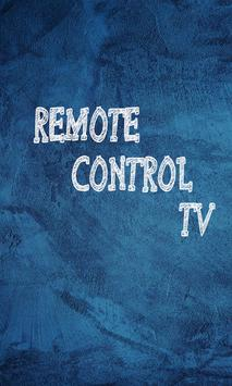 Tv remote control - Smart tv poster