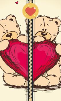 Teddy Bear Zipper poster