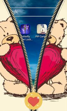 Teddy Bear Zipper apk screenshot