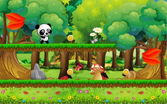 Panda Adventure - Baby Pandas run in the Forest screenshot 1