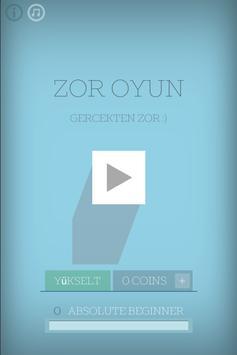Zor Oyun poster