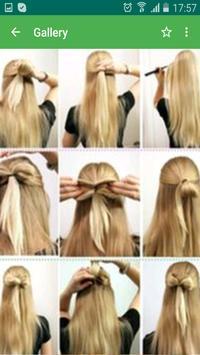 Hairstyles step by step 2016 apk screenshot