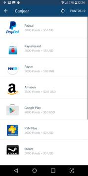 Ganar dinero y tarjetas regalo   AppBay screenshot 1