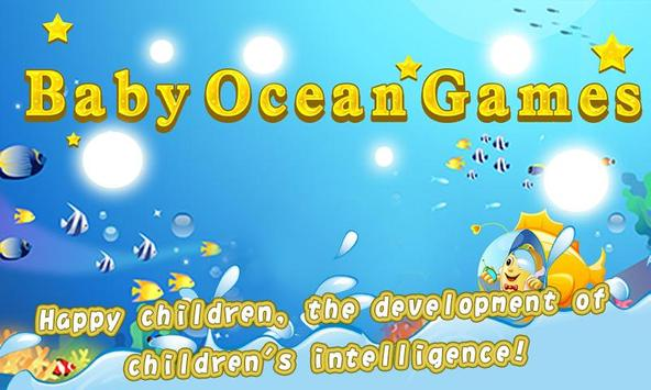 Baby Ocean Games poster