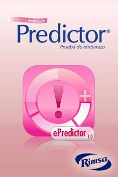 e-Predictor poster