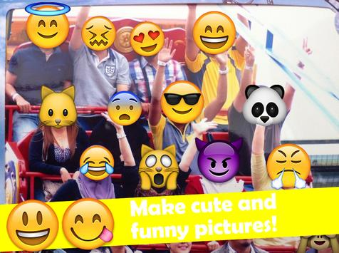 Emoji Selfie Photo Sticker apk screenshot