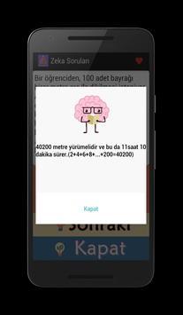 Zeka Soruları apk screenshot