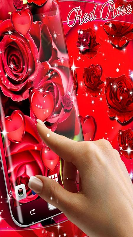 Rose Wallpaper 2018 Red Rose Live Wallpaper Hd For Android Apk
