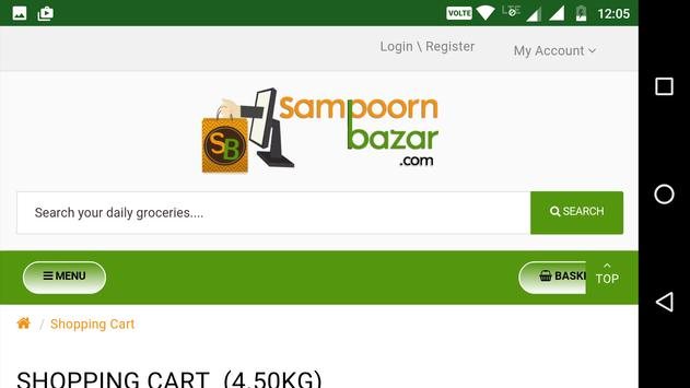 Sampoorn Bazar  - Online Grocery Store screenshot 6