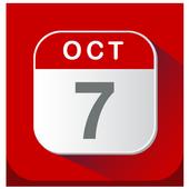 Calendario 2018 icon