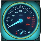 GPS Speedometer Odometer -Trip Meter icon